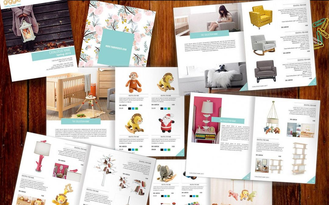 Thiết kế catalogue – brochure