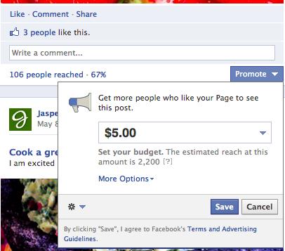 Quảng cáo Page Post(Thăng hạng bài viết/Page Post Ads):