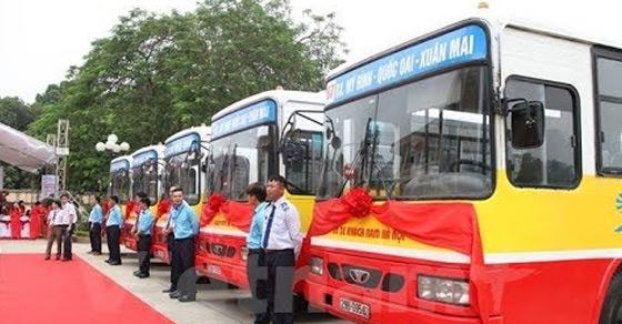 Báo giá quảng cáo trên xe Bus Hà nội năm 2020
