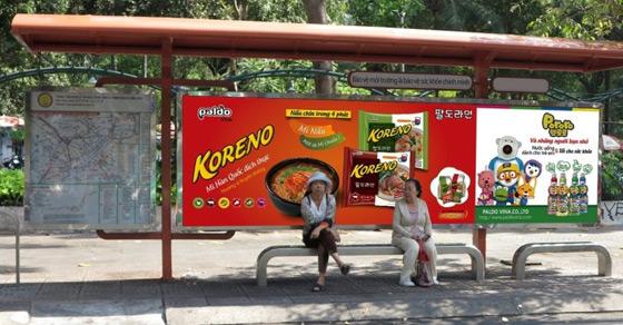 Báo giá quảng cáo tại nhà chờ xe Bus Hà Nội – Quảng cáo Bus Hà Nội