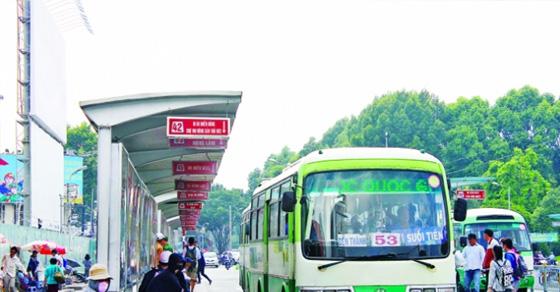 Báo giá quảng cáo trên xe Bus TP HCM