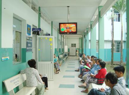 Quảng cáo trong bệnh viện