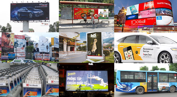 Quảng cáo ngoài trời – outdoor, pano, billboard