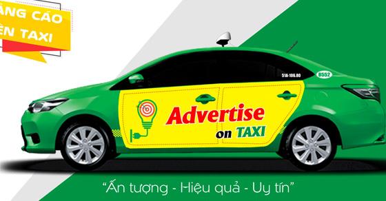 Báo giá quảng cáo trên taxi Mai Linh – Quảng cáo trên taxi
