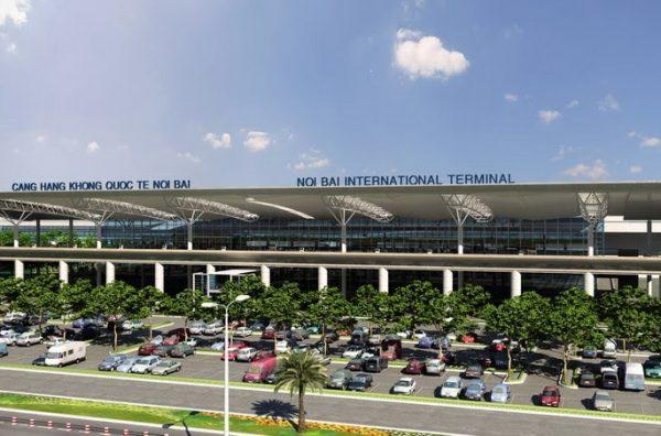 Hình thức quảng cáo tại  sân bay Nội Bài
