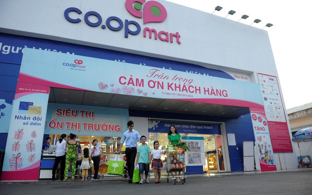 Quảng cáo tại siêu thị  – nơi dễ dàng tiếp cận với các khách hàng tiềm năng